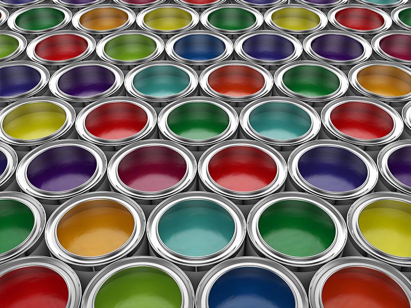 取り扱い塗料の豊富さ