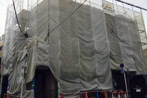 綾瀬のO様邸屋上防水・外壁塗装工事始まりましたー!!