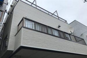 屋上防水・外壁サイディング工事