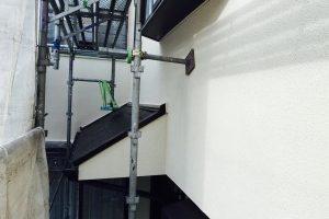 品川区の住宅塗り替え工事塗装完了