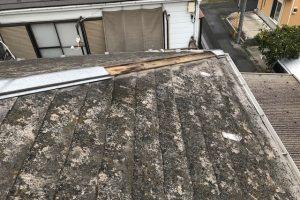 10月1日 深夜 台風24号 関東直撃 屋根破損