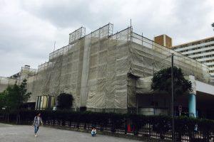都立墨田特別支援学校の公共工事における資料作成
