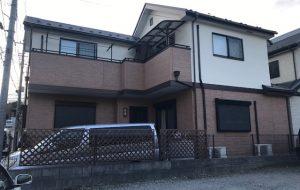屋根はカバー工法で外壁はツートンカラーにチェンジ K様邸(川口市)