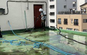 江東区 屋上防水  1